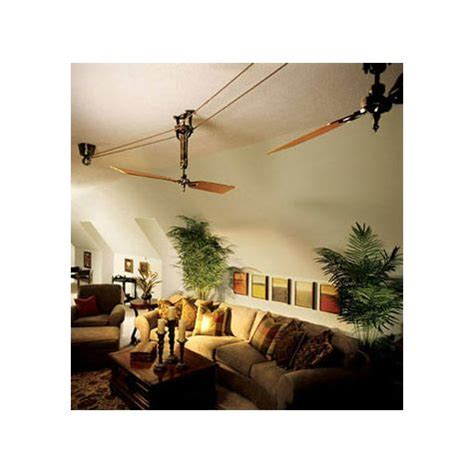 Brewmaster Ceiling Fan by Brewmaster Belt Driven Ceiling Fan Barn Light Electric