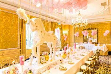 Baby Shower Seating by Pink And Gold Carousel Baby Shower Baby Shower Ideas
