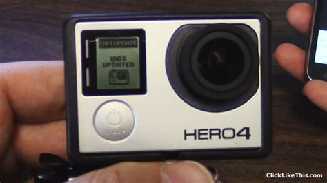 Gopro Update how to update your gopro hero4 firmware and fix a fail click like this