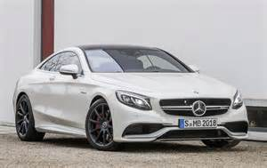 Mercedes S63 Coupe Mercedes S63 Amg Coupe Revealed With 585 Hp