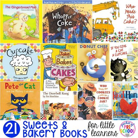 what is a picture book and bakery books for learners pocket of