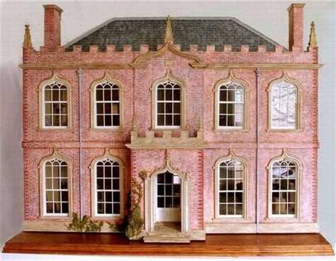 classic dolls house classic english gothic dollhouse mom s miniatures pinterest