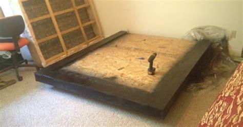 Vancouver Bed Frame W Floating Foot Bedroom Furniture Forty Winks Diy Furniture Diy Floating Bed Frame
