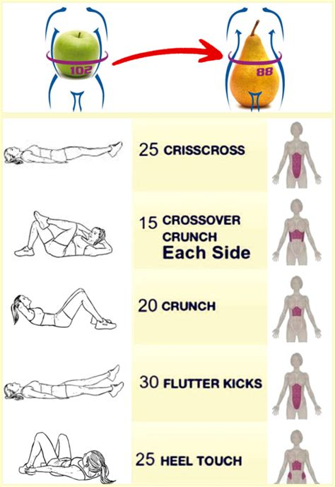 flat stomach fast  beginners workout routine