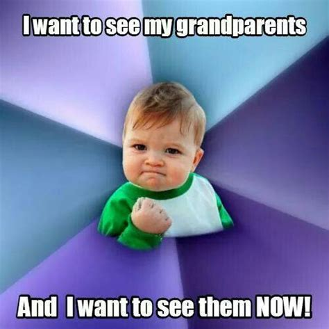 Grandparents Meme - 17 best images about grandparents have rights too on