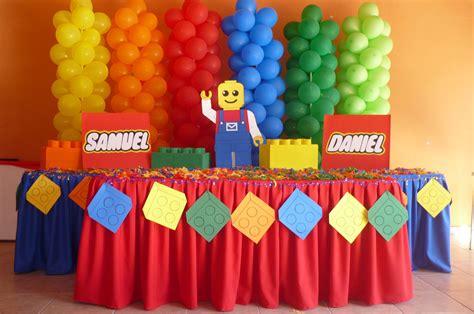 decoracion cumpleanos infantiles ideas para decorar cumplea 241 os infantiles tematica lego 3
