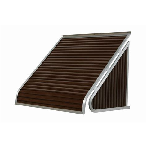 metal awnings home depot nuimage awnings 3 ft 3500 series aluminum window awning 24 in h x 20 in d in