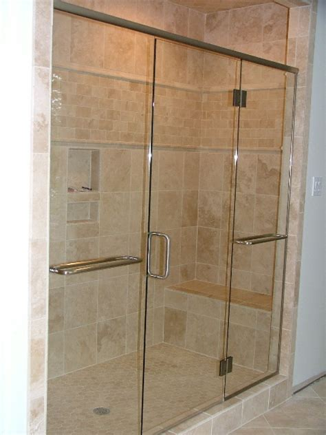 Shower Door Panel Frameless Glass Shower Door Installation In Chesapeake Virginia