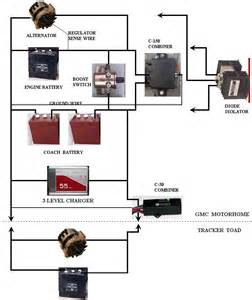 battery isolator wiring diagram gmc truck wiring diagram