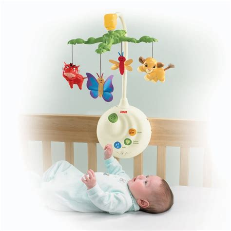 Fisher Price Crib Mobile Projector by Fisher Price Disney Baby The King Projection Mobile