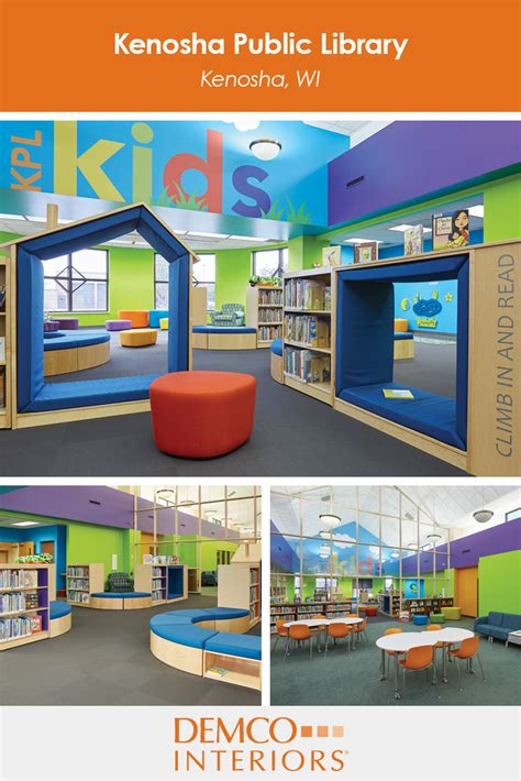 library colors take a virtual tour of the kenosha public library where