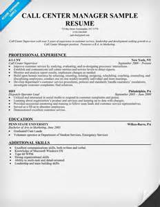 Call Center Manager Description by Call Center Manager Resume Sle Resumecompanion Resume Call Center Manager