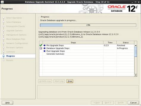 oracle networking tutorial upgrading an oracle database