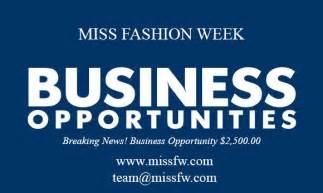 missed business opportunities miss fashion week announces grand finale
