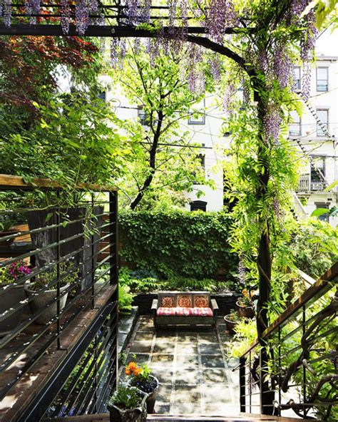 Garden Park Slope by Amazing The Deck With Gardening Space House Design And Decor
