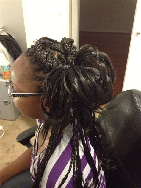 how to style freestyle micro braids freestyle braids kids hair pinterest braids