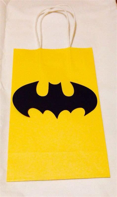 Goodie Bag Paper Bag Batman the world s catalog of ideas