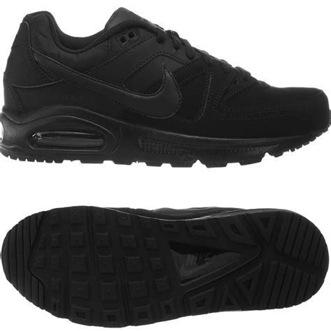 nike air max command leather black or gray s sneakers