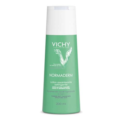 Toner Astringent vichy normaderm purifying astringent lotion toner 200ml