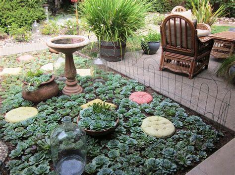 giardini con piante grasse piccolo giardino di piante grasse decorazioni per la casa