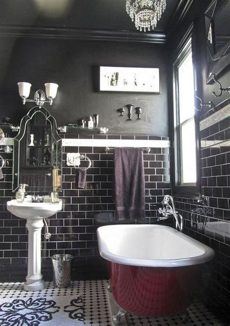 dark bathroom 15 clawfoot bathtub ideas for modern chic bathroom rilane