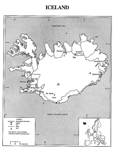 iceland map coloring page iceland map free colouring pages