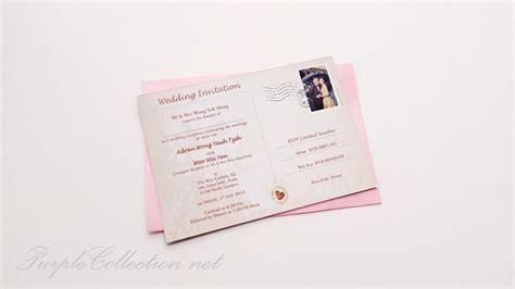 Wedding Photo Invitation Post Cards