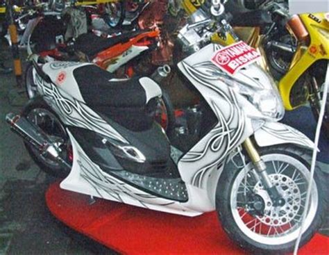 Lu Led Motor Mio Sporty motormaticmodifikasi modifikasi yamaha mio contest
