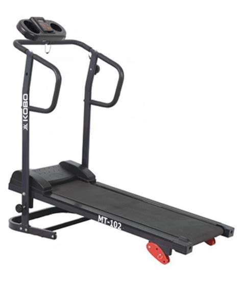 Treadmill Manual Moscow 3 F kobo manual treadmill for home cardio buy at best price on snapdeal