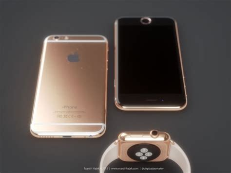 New Technology Gadgets iphone 6s and 6s plus to come in rose gold