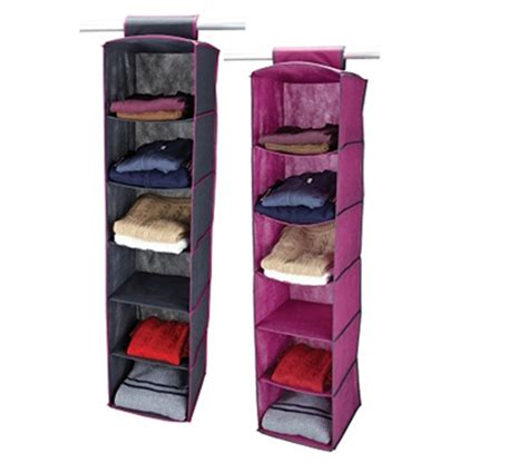 6 Shelf Closet Organizer by College Storage Necesity 6 Shelf Closet Organizer