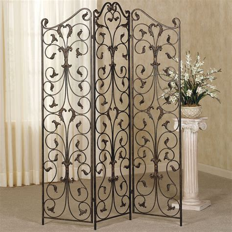 Metal Room Divider Ashville Metal Room Divider Screen