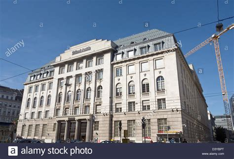 bank austrua unicredit bank austria building in vienna stock photo
