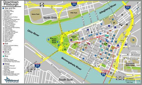 map of usa pittsburgh pittsburgh map free printable maps