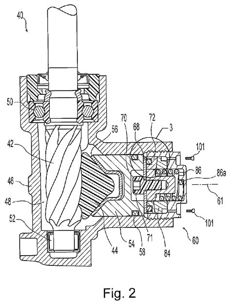 Steering Rack Definition by Patent Ep2098435a3 Rack And Pinion Steering Gear With Self Adjusting Rack Bearing Patents