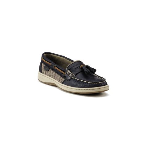 black sperry loafers sperry top sider tasselfish mocassin loafers in black