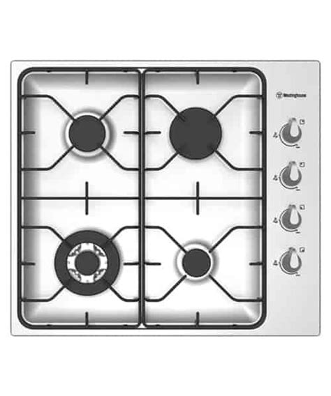 westinghouse 90cm gas cooktop westinghouse 60cm stainless steel gas cooktop whg643sa