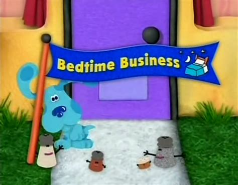 boat song clue bedtime business blue s clues wiki fandom powered by wikia