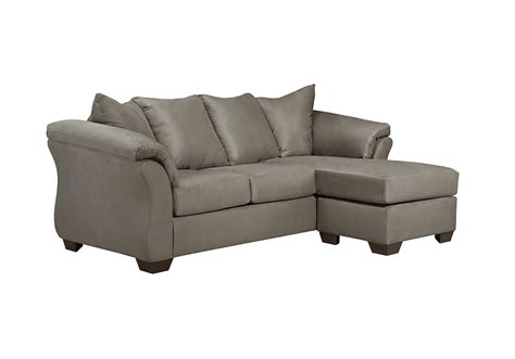 chaise lounge overstock darcy cobblestone sofa chaise lexington overstock warehouse