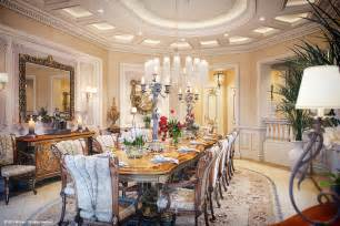 Luxurious Dining Rooms by Luxury Villa In Qatar Visualized