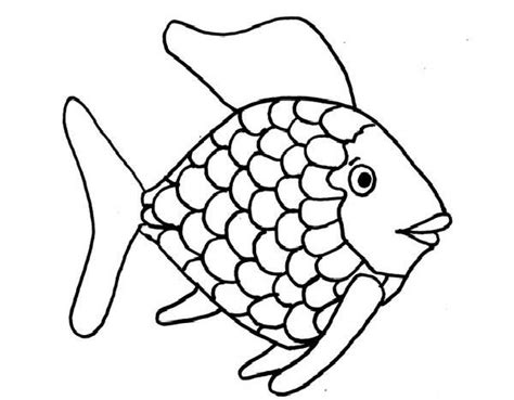 coloring page of a rainbow fish fish coloring pages ocean and tropical gianfreda net
