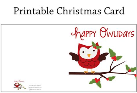 printable happy holiday cards free my owl barn free christmas gift labels cards