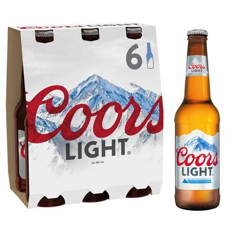 18 pack of coors light price morrisons coors light 6 x 330ml product information