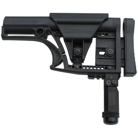 Install Luthar Mba 1 by Ar Buttstock Rail For Luth Ar Stocks