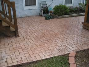 stamped concrete patio done by rbl from rbl contracting in