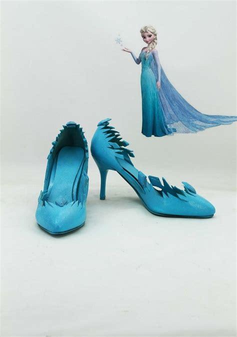 elsa frozen shoes for frozen snow elsa costume boots boot shoes shoe ebay