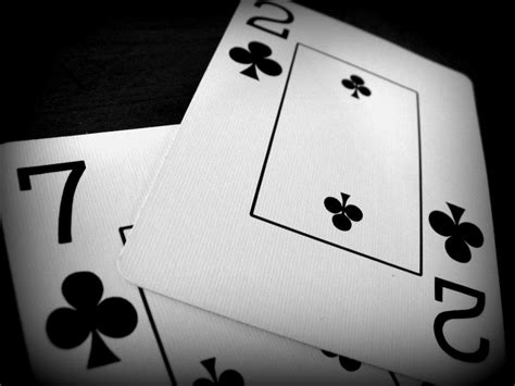 newknowledgebase blogs some effective black and white seven deuce of clubs with holga effect used in this