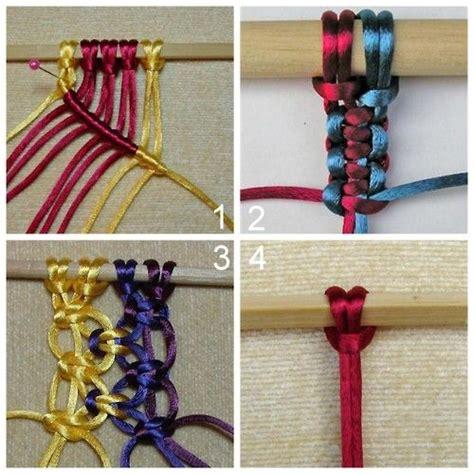 Half Hitch Macrame - best 25 half hitch knot ideas on clove hitch