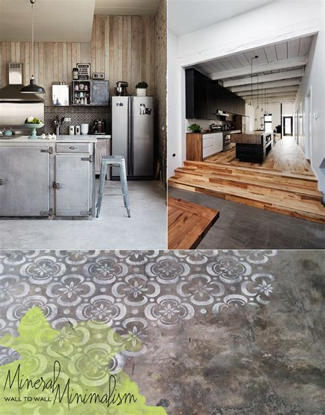Living The Trend: Concrete Kitchen & Dining Room Design