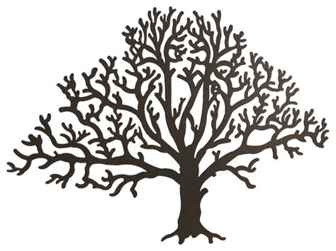 metal tree wall hanging metal brown tree decorative wall hanging traditional
